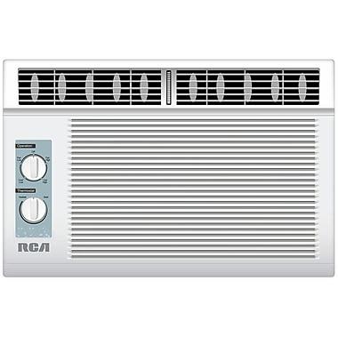 RCA® RACM5002 Energy Star 5000 BTU Window Air Conditioner With Mechanical Control, White