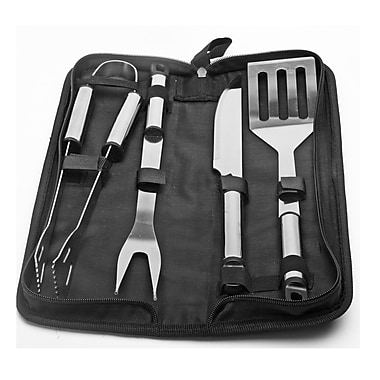 Natico Originals 5 Piece Stainless Steel BBQ Tool Set