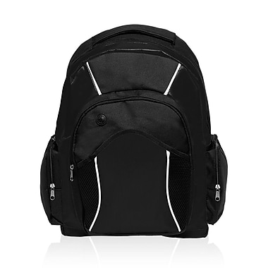 Natico Originals Sports and Travel Backpack, Black