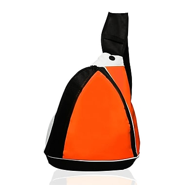 Natico Originals – Sac à dos à bandoulière de sports et de voyage, orange