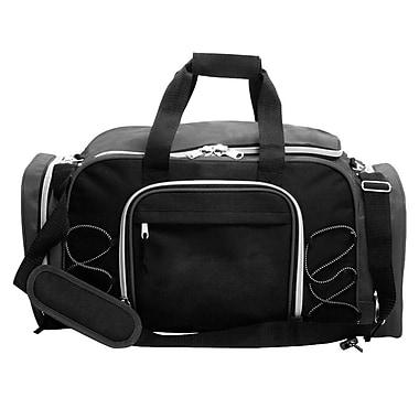 Natico Originals Multi Pocket Travel Duffel Bag, Gray