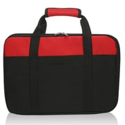 Natico Originals Laptop Messenger Bag, Red