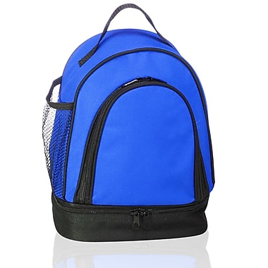 Natico Originals Two-Tone Insulated Lunch Bag, Blue