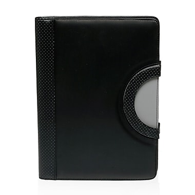 Natico Originals Portfolio & iPad Holder, Black/Grey