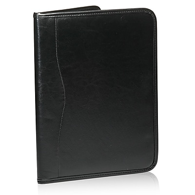 Natico Originals Organizer Portfolio With Memo Pad, Black