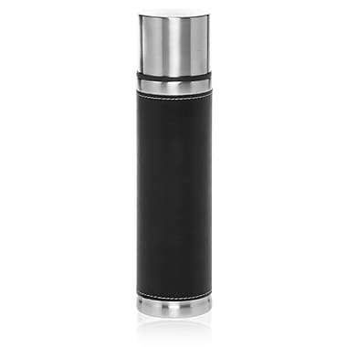 Natico Originals 17 oz. Vacuum Flask With Stainless Steel Cap, Black