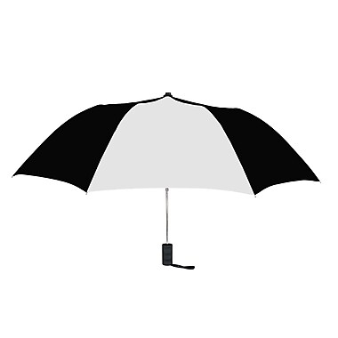 Natico Originals Spectrum Auto Open Umbrella, Black/White