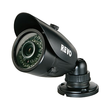 REVO RCBS30-3BNC Wired Surveillance Camera with Day/Night Vision, Black