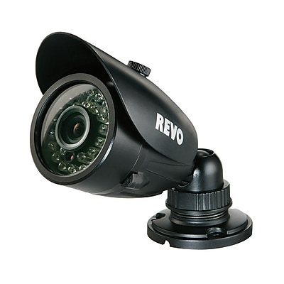 REVO™ RCBS30-3BNC 700 TVL Indoor/Outdoor Bullet Surveillance Camera With 100' Night Vision