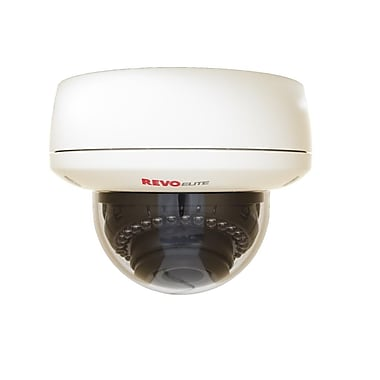 REVO™ RECDH2812-3 Elite 700 TVL Indoor/Outdoor Dome Surveillance Camera With Day/Night
