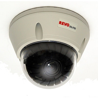 REVO™ REVDN600-2 Elite 600 TVL Indoor/Outdoor Vandal Proof Dome Surveillance Camera With Day/Night