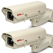 REVO™ REXT600-2BNDL Elite 600 TVL Indoor/Outdoor Commercial Grade Box Surveillance Camera, 2/Pack