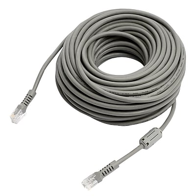 REVO™ R100RJ12C 100' RJ12 Cable With Coupler, Green