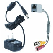 REVO™ RJ12 To BNC Adapter Coupler With 12 VDC Power Supply