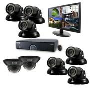 "REVO™ 16CH 960H 2TB DVR Surveillance System W/8 700TVL Night Vision Cameras & 21 1/2"" Monitor, Black"