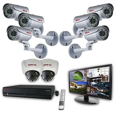 REVO™ 16CH HD 4TB NVR Surveillance System W/POE Switch & Cameras & 23