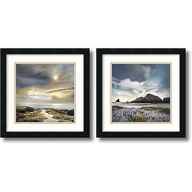 Amanti Art Sense of Direction & Sweet Illusion Framed Art by William Vanscoy, 2/Pack (DSW1004266)