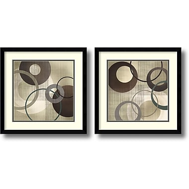 Amanti Art Hoops and Loops Framed Art by Tandi Venter, 2/Pack (DSW1004267)