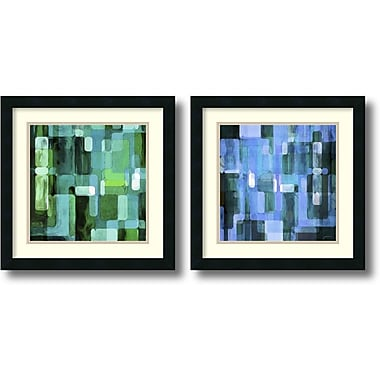 Amanti Art Modular Tiles, Cool Framed Art by James Burghardt, 2/Pack (DSW1004309)