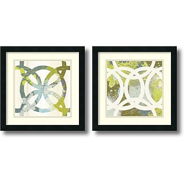 Amanti Art Ornamental, Circling Framed Art by MAJA, 2/Pack (DSW1004319)