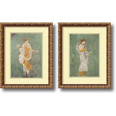 Amanti Art ? Art encadré « Primavera et Diana » par Pompeian, 2/pqt (DSW1004320)