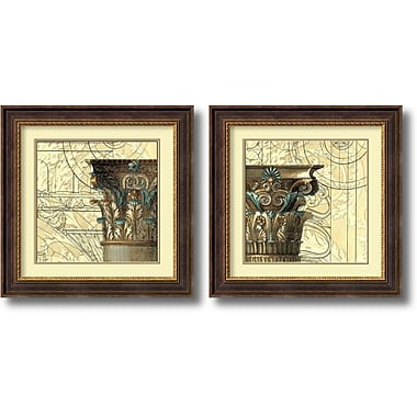 Amanti Art Architectural Inspiration Framed Art by Vision Studio, 2/Pack (DSW1004329)