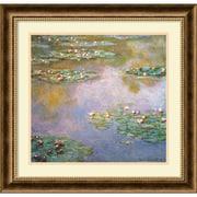"""Amanti Art """"Water Lilies, 1907"""" Framed Art by Claude Monet"""
