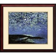 "Amanti Art ""Moonlight, Isle of Shoals 1892"" Framed Art by Frederick Childe Hassam"