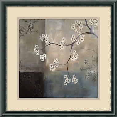 Amanti Art Spa Blossom I Framed Art by Laurie Maitland (DSW420286)