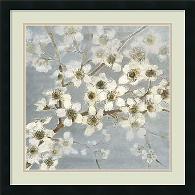Amanti Art Silver Blossoms II Framed Art by Elise Remender (DSW426315)