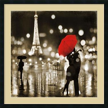 Amanti Art A Paris Kiss Framed Art by Kate Carrigan (DSW973765)