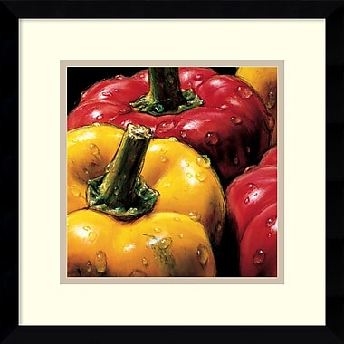 Amanti Art Peppers Framed Art by AlmaCh (DSW979704)