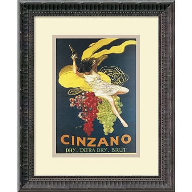 Amanti Art Cinzano, 1920 Framed Art by Leonetto Cappiello (DSW979707)