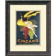 """Amanti Art """"Cinzano, 1920"""" Framed Art by Leonetto Cappiello"""