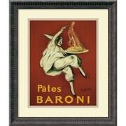 """Amanti Art """"Pates Baroni (ca. 1921)"""" Framed Art by Leonetto Cappiello"""