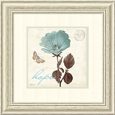 Amanti Art Touch of Blue III Hope Framed Art by Katie Pertiet (DSW982643)