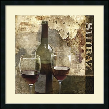 Amanti Art ? Impression encadrée « Shiraz » par Keith Mallett (DSW982664)