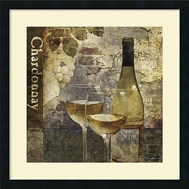 Amanti Art ? Impression encadrée « Chardonnay » par Keith Mallett (DSW982666)
