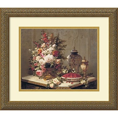Amanti Art Tulips and Other Flowers Framed Art by Jean Baptiste Robie (DSW982841)