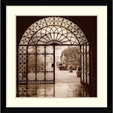 Amanti Art Courtyard in Venezia Framed Art by Alan Blaustein (DSW986616)