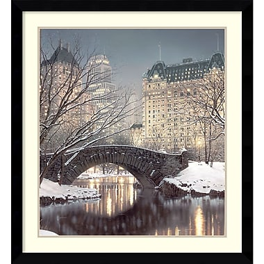 Amanti Art Twilight in Central Park Framed Art by Rod Chase (DSW986618)