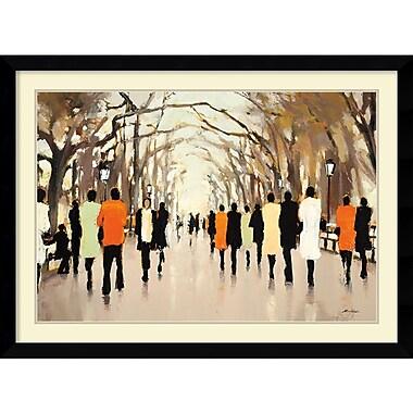Amanti Art Poets Walk Framed Art by Lorraine Christie (DSW986619)