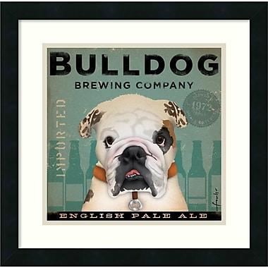Amanti Art Bulldog Brewing Framed Art by Stephen Fowler (DSW986918)