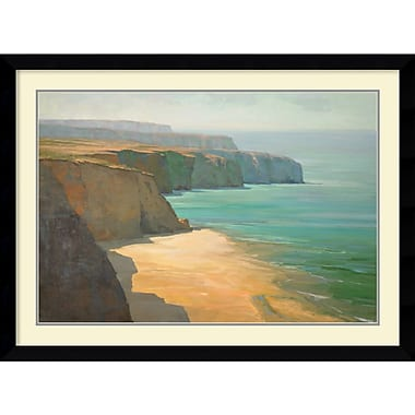 Amanti Art The Cliffs Framed Art by Robin Hall (DSW986960)