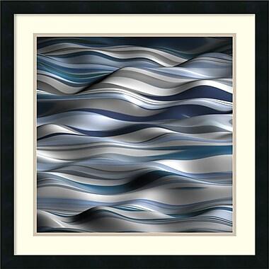 Amanti Art ? Art encadré « Ondulation 1A » par J.P. Clive (DSW986999)