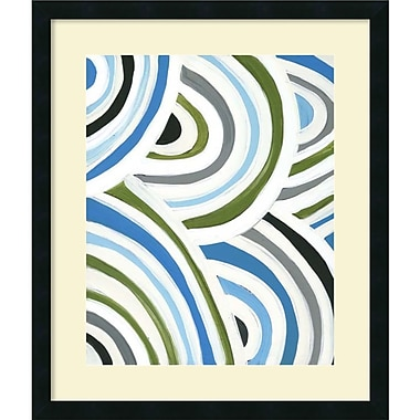 Amanti Art Swirly Bob I Framed Art by Jodi Fuchs (DSW987128)