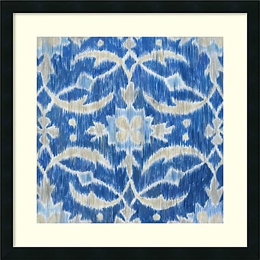 Amanti Art Royal Ikat I Framed Art by Megan Meagher (DSW987461)
