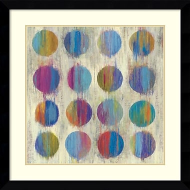 Amanti Art Ikat Dots II Framed Art by Aimee Wilson (DSW987646)