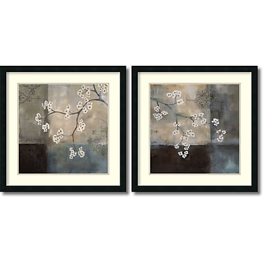 Amanti Art Spa Blossom, Large Framed Art by Laurie Maitland, 2/Pack (DSW995054)