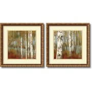 "Amanti Art ""Along the Path - Set of 2"" Framed Art by Allison Pearce"
